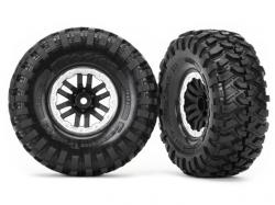 Traxxas 8272X Räder und Reifen, montiert und geklebt, TRX-..