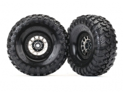 Traxxas 8174 Räder und Reifen, montiert und geklebt, Metho..