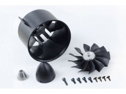 Freewing 90mm 12-Blatt Impeller für Aussenläufermotoren
