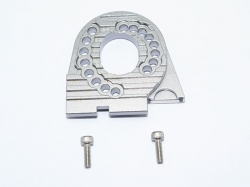 ALUMINUM MOTOR MOUNT PLATE WITH HEAT SINK FINS Grau - 3PC ..