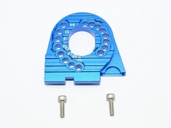 ALUMINUM MOTOR MOUNT PLATE WITH HEAT SINK FINS Blau - 3PC ..