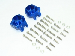ALUMINUM REAR GEAR BOX MOUNTS Blau (MULTIPLE POSITIONING H..