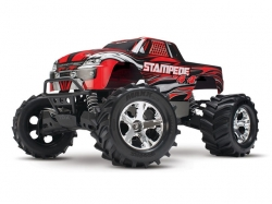 Traxxas STAMPEDE 4WD RTR Monster Truck 1:10 TQ 2.4GHz Rot/..