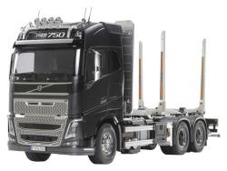 Tamiya Volvo FH16 Globetrotter 750 6x4 Timber Truck RC-Tru..