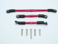 ALUMINIUM FRONT ADJUSTABLE STEERING LINK & SUSPENSION LINK..