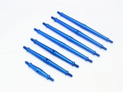 ALUMINUM TURNBUCKLES Blau -7PC SET
