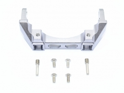 ALUMINIUM REAR BUMPER MOUNT Grau -7PC SET