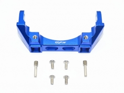 ALUMINIUM REAR BUMPER MOUNT Blau -7PC SET