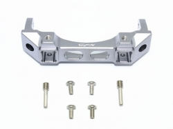 ALUMINIUM FRONT BUMPER MOUNT grau -7PC SET
