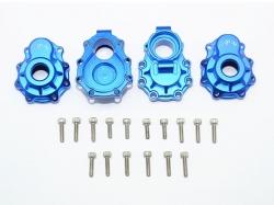 ALUMINUM REAR KNUCKLE ARMS Blau -20PC SET