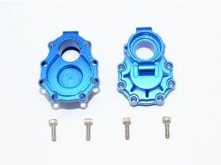 ALUMINUM REAR KNUCKLE ARMS INNER CASE Blau -6PC SET