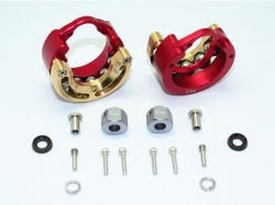ALUMINUM PENDULUM WHEEL KNUCKLE AXLE WEIGHT WITH BRASS LID..