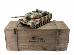 Panzer Leopard 2A6 Metall 2.4GHz 1/16 BB 6mm Schussversion..
