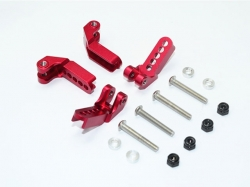 ALUMINUM ADJUSTABLE F/R DAMPER MOUNT Rot -16PC SET