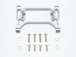 ALUMINUM FRONT SERVO MOUNT Grau -13PC SET
