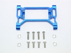 ALUMINUM FRONT SERVO MOUNT Blau -13PC SET