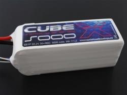 SLS X-Cube 5000mAh 6S1P 22.2V 30+/60C LiPo-Akku