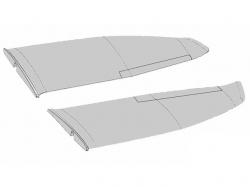 Tragflächen FunGlider 1.3m von Multiplex