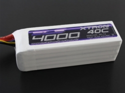 SLS Xtron 4000mAh 6S1P 22.2V 40+/80C LiPo-Akku