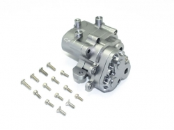 ALUMINUM CENTER GEARBOX Grau -17PC SET