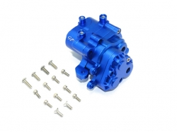 ALUMINUM ALUMINUM CENTER GEARBOX Blau -17PC SET
