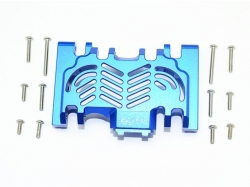 ALUMINUM LOWER GEAR COVER Blau -13PC SET