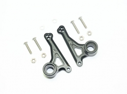 ALUMINUM FRONT ROCKER ARM SET Schwarz -12PC SET