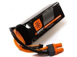 Spektrum 5000mAh 6S 22.2V 30C Smart LiPo, IC5