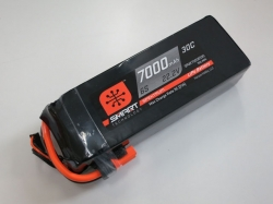 Spektrum 7000mAh 6S 22.2V 30C Smart LiPo, IC5