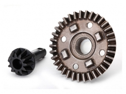 Traxxas 8279 Ring gear, differential/ pinion gear, differe..