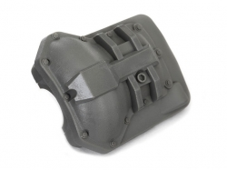 Traxxas 8280 Differential cover, front or rear (grey)