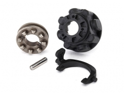 Traxxas 8281 Carrier, differential/ differential slider/ T..
