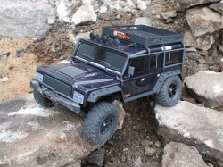 DF-4J Jeep Crawler XXL Limited Black Edition 1:10 4WD RTR ..