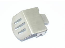 STAINLESS STEEL F/R GEAR BOX BOTTOM PROTECTOR MOUNT FOR TR..