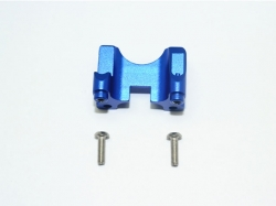 ALUMINUM REAR DAMPER MOUNT Blau -3PC SET