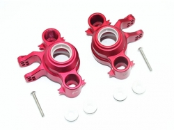 ALUMINUM FRONT/REAR KNUCKLE ARMS Rot -8PC SET