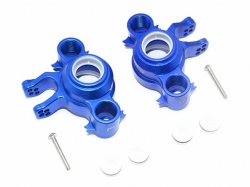 ALUMINUM FRONT/REAR KNUCKLE ARMS Blau -8PC SET