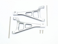 ALUMINUM FRONT UPPER SUSPENSION ARM Grau -6PC SET