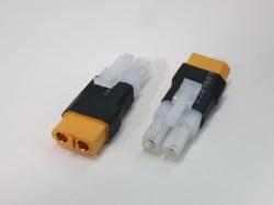 Adapter Tamiya/Molex Stecker auf XT60 Buchse, 2Stk