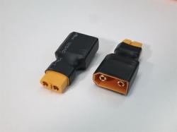 Adapter XT90 Stecker auf XT60 Buchse, 2Stk