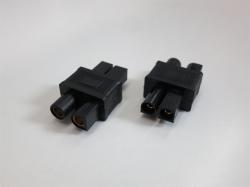 Adapter Tamiya/Molex Stecker auf EC3 Buchse, 2Stk