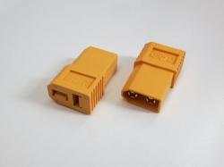 Adapter XT60 Stecker auf T-Plug Buchse, 2Stk