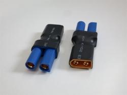Adapter XT60 Stecker auf EC5 Buchse, 2Stk
