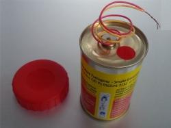 Mr. Smoke 3 Rot mit Elektrozünder