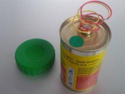 Mr. Smoke 3 Grün mit Elektrozünder