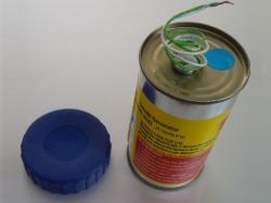 Mr. Smoke 3 Blau mit Elektrozünder