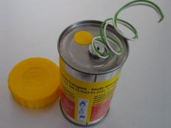 Mr. Smoke 3 Gelb mit Elektrozünder