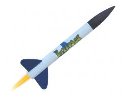 Modellrakete Luna 280x26mm, 40g, 75  bis 410m Höhe