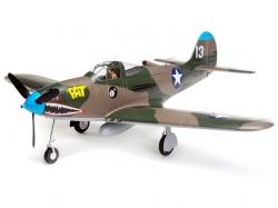 E-Flite P-39 Airacobra 1.2m BNF Basic mit AS3X und Safe Te..