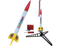 Modellrakete Starterset Calypso 410x35mm, 75g, 100 bis 560m Höhe